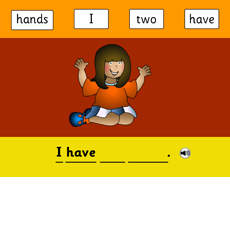 Teach Kids English I have two hands